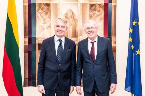 """Seimo Europos reikalų komiteto pirmininko G. Kirkilo pranešimas: """"Suomija ir Lietuva siekia labai panašių tikslų Europos Sąjungoje"""""""