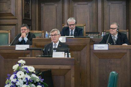 Seimo Pirmininko Viktoro Pranckiečio sveikinimo kalba 38-ojoje Baltijos Asamblėjos sesijoje