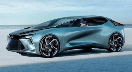 Lexus pristatė ateities elektrifikacijos viziją su naujausiu koncepciniu elektrifikuotu LF-30 automobiliu