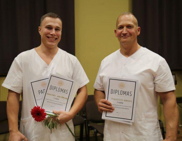 Masažuotojų konkurse demonstruotas profesinis meistriškumas