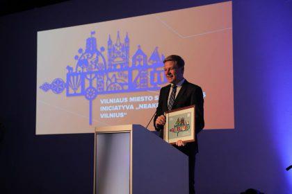 """Sėkmingiausios metų turizmo iniciatyvos apdovanojimas – nematytą sostinę atvėrusiam projektui """"Neakivaizdinis Vilnius"""""""