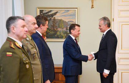 Prezidentas: Lenkija – strateginė Lietuvos saugumo partnerė