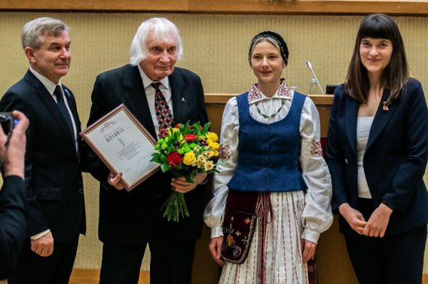Seimas awarded the Freedom Prize 2019