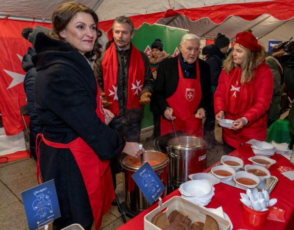 """Akcija """"Maltiečių sriuba"""" surinko reikiamą sumą – seneliai sulauks paramos visus metus"""