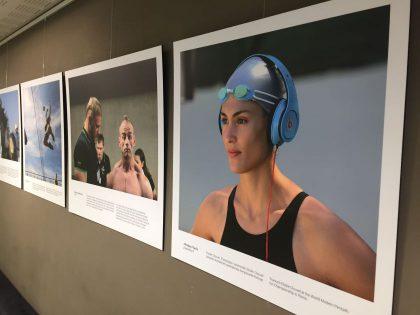 "Seime eksponuojama paroda ""Sporto akimirkos Lietuvos spaudos fotografijoje"""