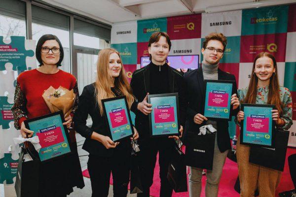 Lietuvos moksleiviai sukūrė pirmąsias skaitmeninio etiketo taisykles