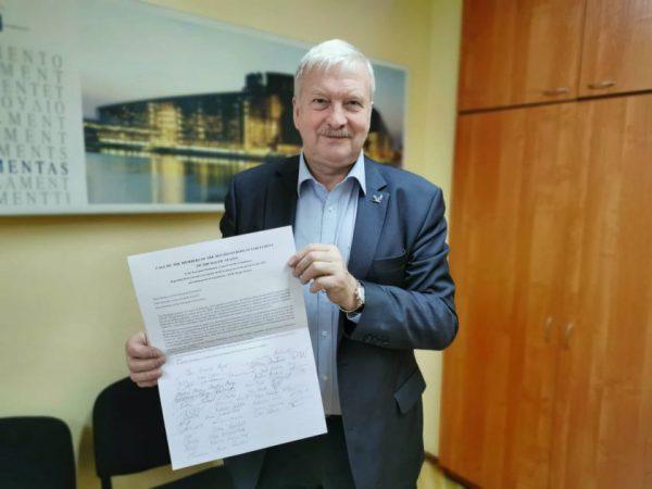 Europos Parlamento Prezidento laiške – pažadas Baltijos šalių ūkininkams