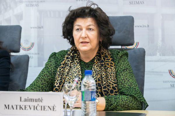 """Seimo narės Laimutės Matkevičienės pranešimas: """"Susitelkime kovai su COVID-19"""""""