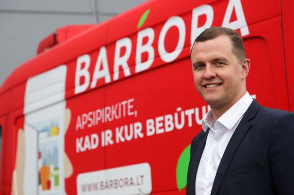 """Internetinio apsipirkimo paklausa regionuose auga: """"Barbora Express"""" siūlys prekių atsiėmimą per valandą"""