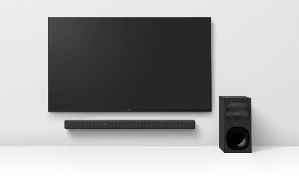 """""""Sony"""" pristato naujas belaides ausines ir namų garso projektorius"""