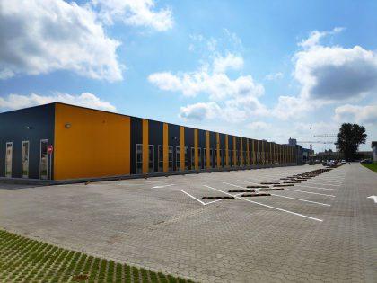 Naujojo Lietuvos pašto logistikos centro statybos oficialiai baigtos