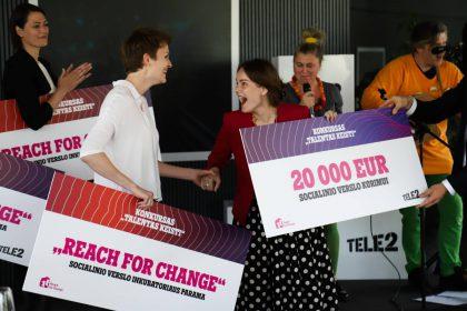 Išrinktos geriausios socialinio verslo idėjos, kurioms atiteks po 20 tūkst. eurų