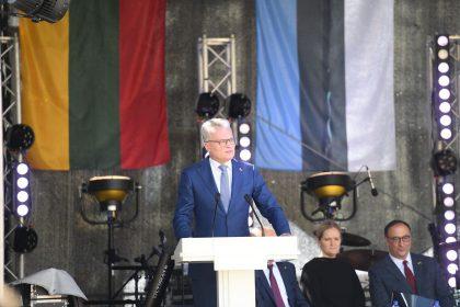 Prezidentas: Lietuvą ir JAV sieja ypatingas ryšys