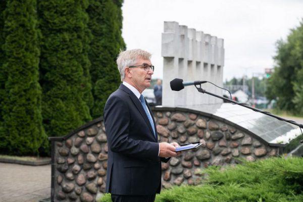 Seimo Pirmininko Viktoro Pranckiečio kalba Medininkų tragedijos 29-ųjų metinių minėjime prie Medininkų memorialo