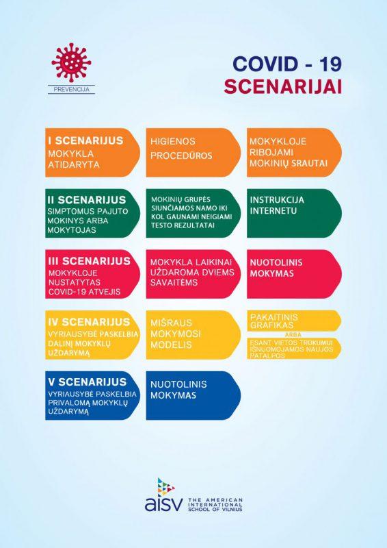 Vasarą atostogavo ne visi: Tarptautinė Amerikos mokykla Vilniuje parengė 5 COVID-19 scenarijus