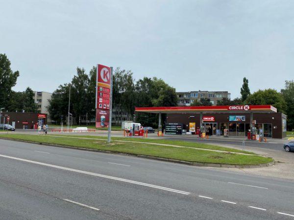 """""""Circle K"""" į degalinę Tauragėje investavo 2 mln. eurų"""