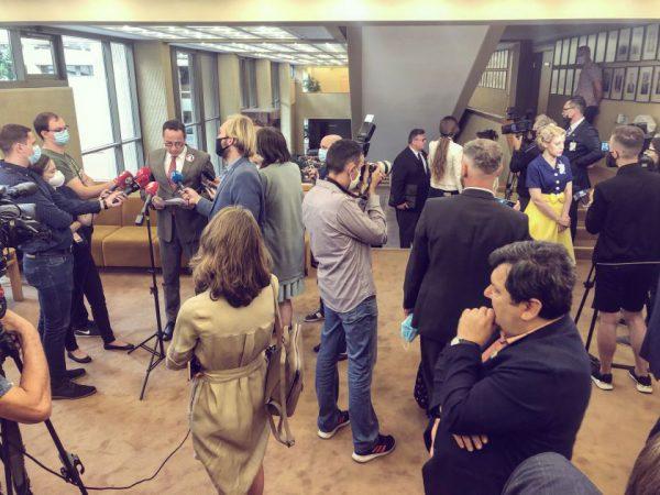 Seimo Užsienio reikalų komitetas priėmė pareiškimą dėl Baltarusijoje vykusių prezidento rinkimų