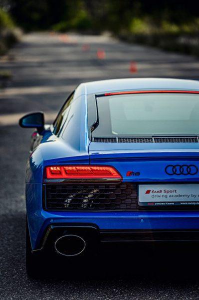"""Naujausi """"Audi RS"""" modeliai išbandyti """"Nemuno žiedo"""" lenktynių trasoje"""