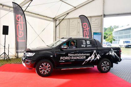 """Geriausiu pikapu komercinio automobilio rinkimuose pripažintas """"Ford Ranger"""""""
