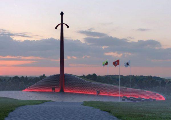 Kryžkalnyje – pagarbos ir padėkos ženklas kovotojams už Lietuvos nepriklausomybę