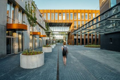 """""""Paupio"""" verslo namai atstovaus Lietuvai svarbiausiame šiuolaikinės architektūros konkurse Europoje"""