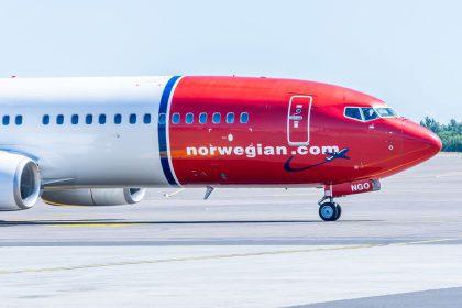 """Skrydžių bendrovė """"Norwegian Air Shuttle"""" atvers naują kryptį: iš Vilniaus skraidins į Bergeną"""