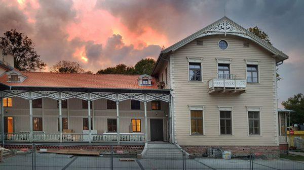 Atgijo seniausias Palangoje kurortinis pastatas