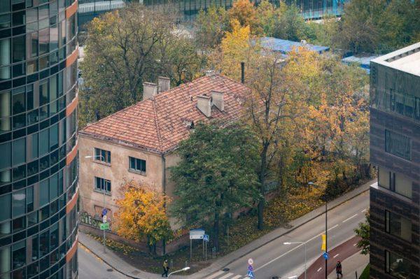 Vietoj apleisto daugiabučio Giedraičių gatvėje planuojama patogi viešoji erdvė