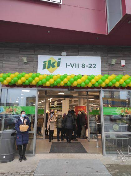 """""""Iki"""" tinklas plečiasi – atidaroma 227 parduotuvė"""