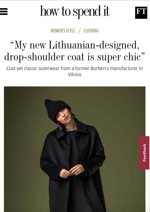 """Apie lietuvių tekstilės ir drabužių produkciją – """"Financial Times"""", """"Vogue"""", """"Daily Mail"""""""