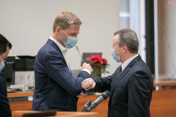 Vilniaus savivaldybėje prisiekė 9 nauji Tarybos nariai