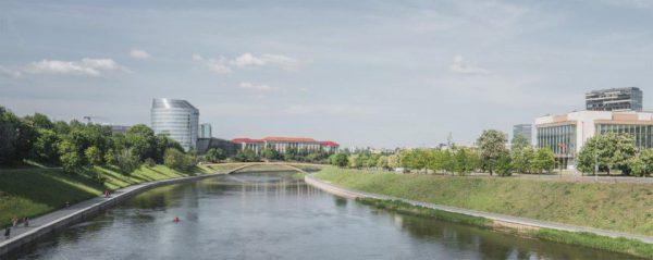 Pritarta naujo pėsčiųjų tilto projektui – įgyvendinimas priklausys nuo aplinkinių teritorijų virsmo