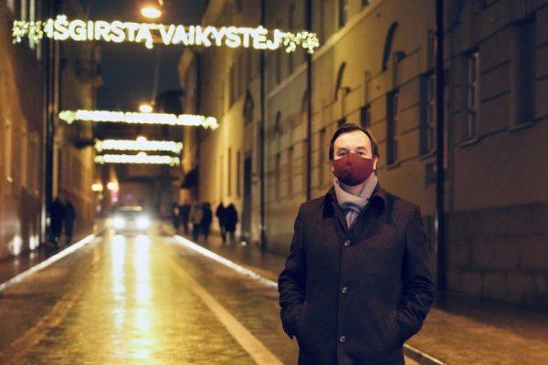 Vilniaus universitetas papuoš Universiteto gatvę išskirtine kalėdine instaliacija