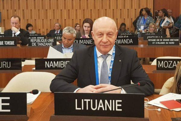 Prof. dr. R. Gudauskas išrinktas UNESCO Filosofijos ir humanitarinių mokslų tarptautinės tarybos (CIPSH) vykdomojo komiteto nariu