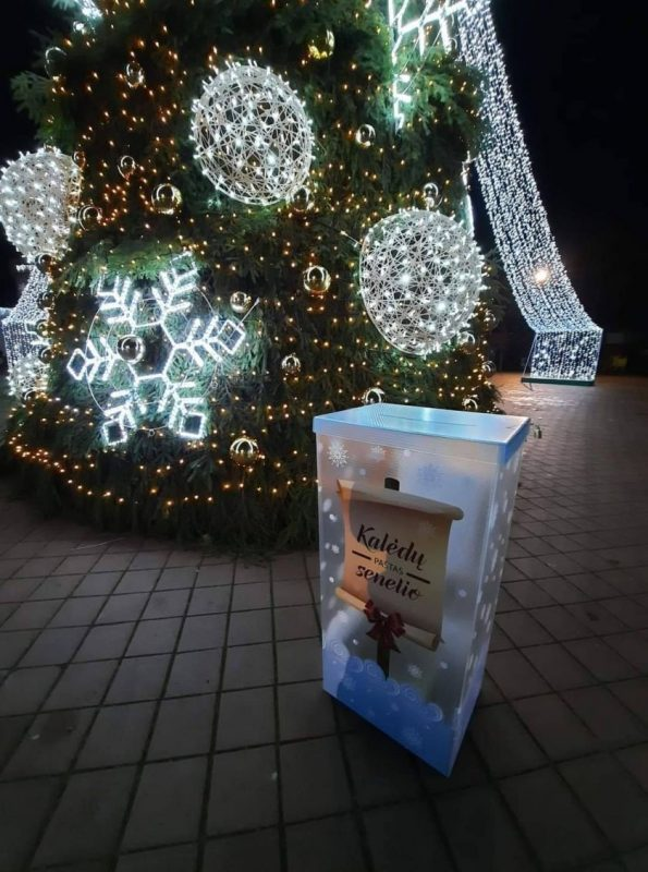 Tauragės rajono savivaldybės administracijos dovana mažiesiems: gyvi vaizdo pokalbiai su Kalėdų seneliu