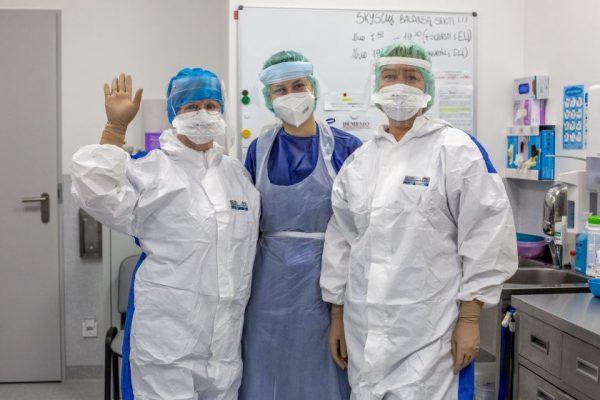Lietuvos Raudonasis Kryžius kviečia savanorius padėti ligoninėms