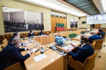 Lietuvos ir Lenkijos parlamentų užsienio reikalų komitetai drauge paminėjo Sausio įvykių trisdešimtmetį