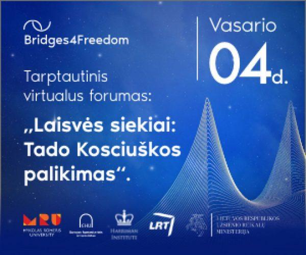 Rengiamas tarptautinis laisvės ir demokratijos forumas, kuriame dalyvaus  ir Baltarusijos opozicijos lyderė