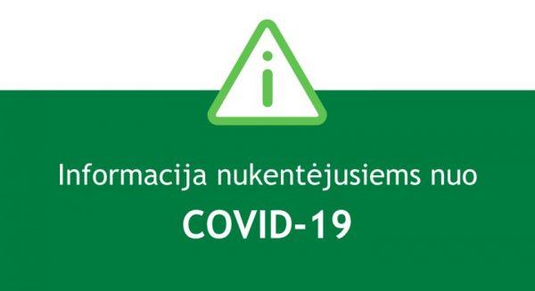 Dėl COVID-19 finansinių sunkumų patiriančios įmonės jau gali teikti prašymą taikyti mokestines pagalbos priemones