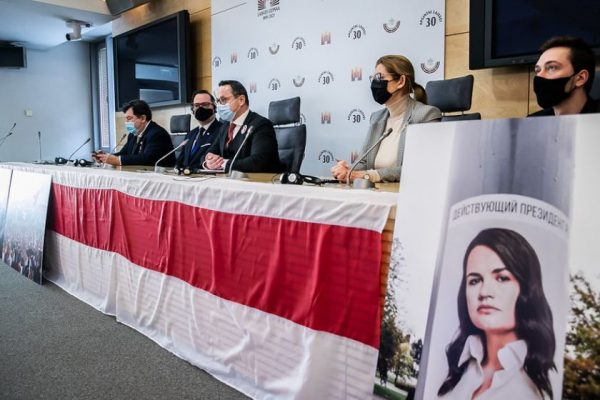 Seimas Committee on Foreign Affairs reminded of the initiative of becoming patrons of Belarusian political prisoners and encouraged the public to join the campaigns of solidarity with Belarus