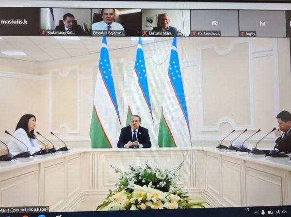 Uzbekistanas ir Lietuva – šalys, siekiančios artimesnio bendradarbiavimo