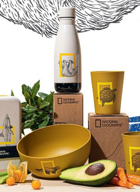 """""""Maxima"""" su """"National Geographic"""" pristato tvarių prekių kolekciją"""