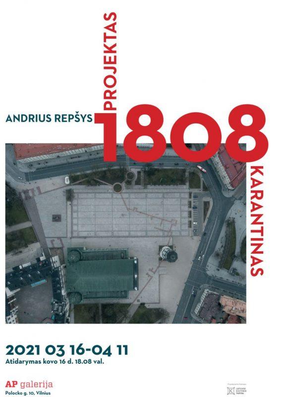 Atidaromoje A. Repšio parodoje – 18:08 val. dronu užfiksuota karantininė Lietuva