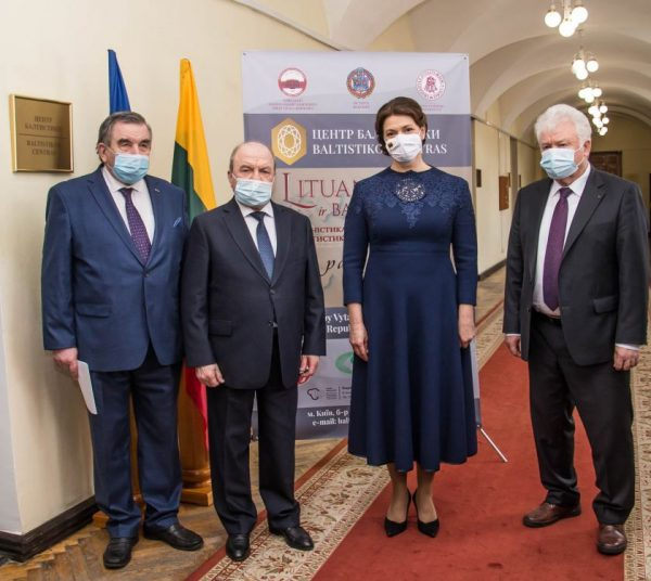 Diana Nausėdienė atidarė Baltistikos centrą Nacionaliniame Kijevo Taraso Ševčenkos universitete