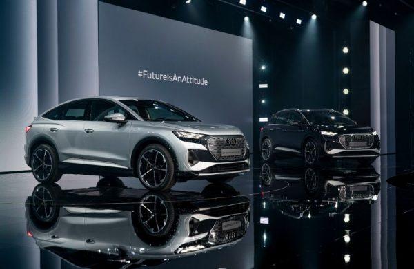 "Elektrinis ir efektyvus: ""Audi Q4 e-tron"" ir ""Q4 Sportback e-tron"""