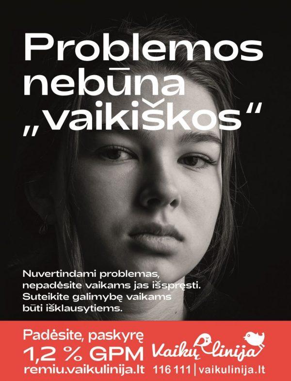 """Nevaikiškos vaikų problemos: kodėl apie jas išgirsta ne tėvai, o """"Vaikų linija""""?"""