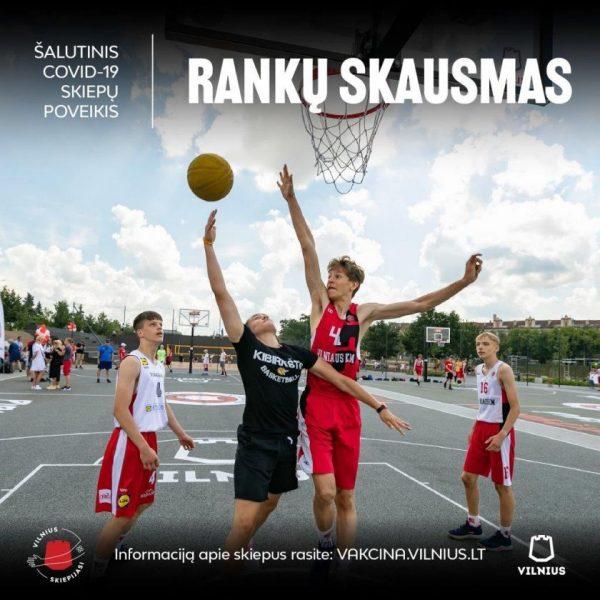 Jaunesnę auditoriją skiepytis Vilnius skatins nauja reklamine kampanija