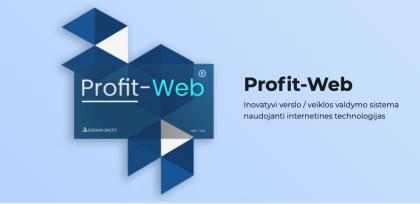 Profit – Web – puikus IT sprendimas verslo įmonėms