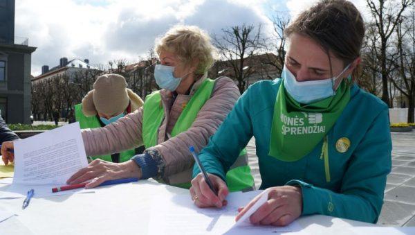Šančių bendruomenė kviečia Kauno savivaldybę dialogui