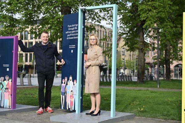 Interaktyvi instaliacija Lukiškių aikštėje kvies diskusijai apie toleranciją ir įvairovę